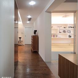 现代过道地板装修效果图