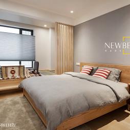 MUJI日式卧室榻榻米装修效果图