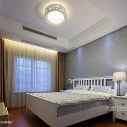 190㎡现代风卧室窗帘装修效果图