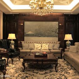 欧式家装客厅设计