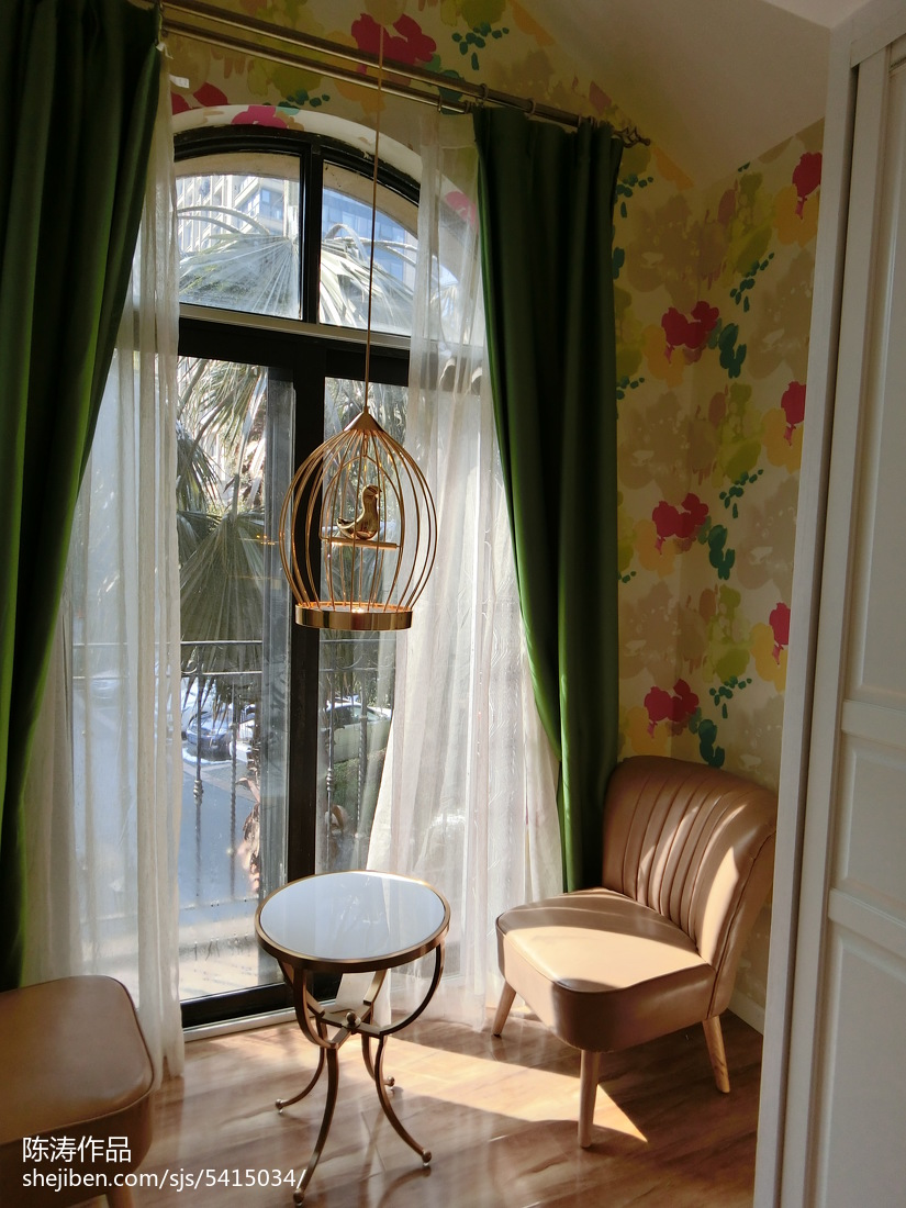 客厅阳台玄关效果图_室内窗户装修效果图_阳台窗户设计图片_设计本专题