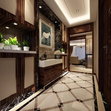 走廊墙壁装扮效果图