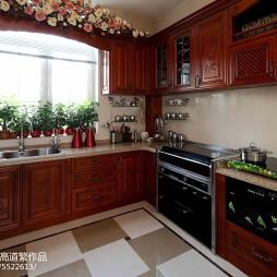 法式厨房装修图片