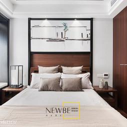 中式卧室背景墙装修