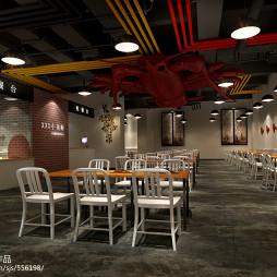 小龙虾餐饮、火鍋、中餐廳、工業風_2188702