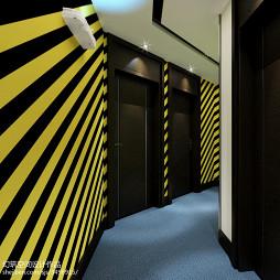 主题酒店客房走廊图片