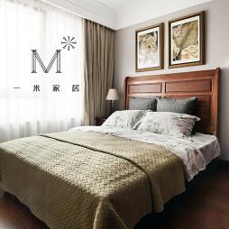 精装房160m²美式卧室图片