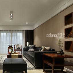 中式风格装修客厅效果图大全