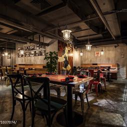 混搭风中餐厅设计