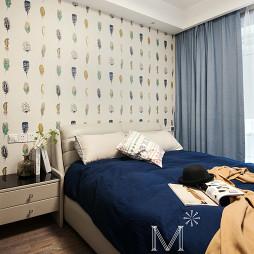 现代简约三居卧室设计