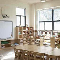 幼儿园教室书柜装修效果图
