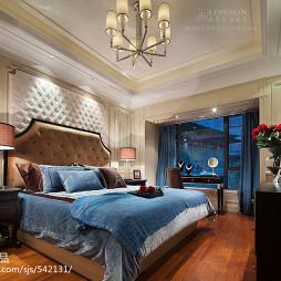 浪漫欧式风格卧室样板房设计