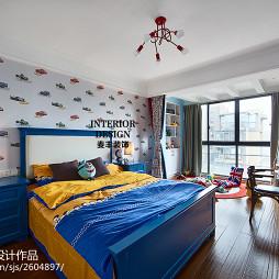 简约美式儿童房装修图