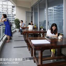 办公室阳台休息区设计