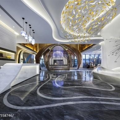杭州长龙领航营销中心设计