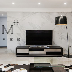 现代时尚电视背景墙效果图
