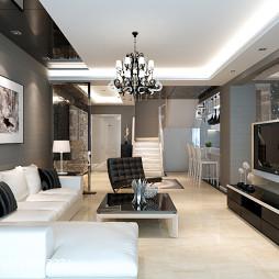 现代家装客厅设计