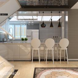 现代家装吧台设计