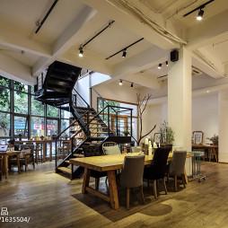 咖啡厅大厅设计效果图