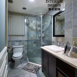 简约美式卫浴设计