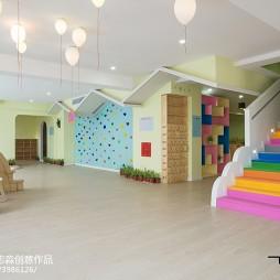 时尚幼儿园楼梯设计