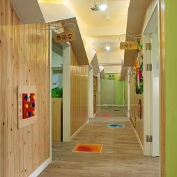 时尚幼儿园走廊设计