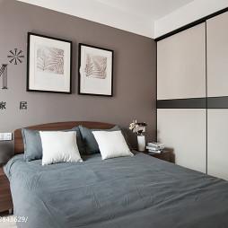 现代简约卧室背景墙设计