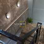 中式风格茶餐厅楼梯设计