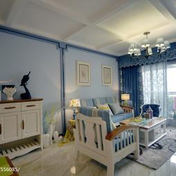 现代地中海客厅设计