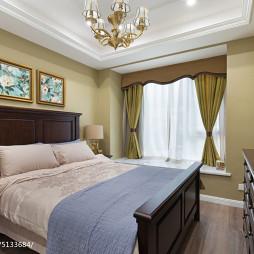 新古典卧室背景墙装修图设计