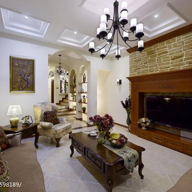 美式客厅装修图设计