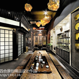 茗艺禅茶茶馆设计
