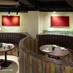 混搭餐厅隔断设计