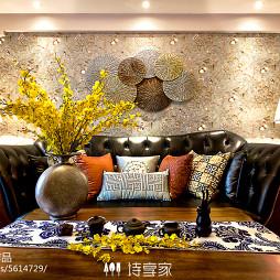 诗享家设计——混搭风沙发背景墙装修