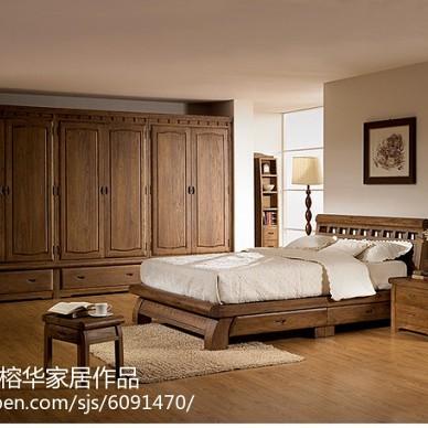 榆木家具卧室怎么搭配_2253545