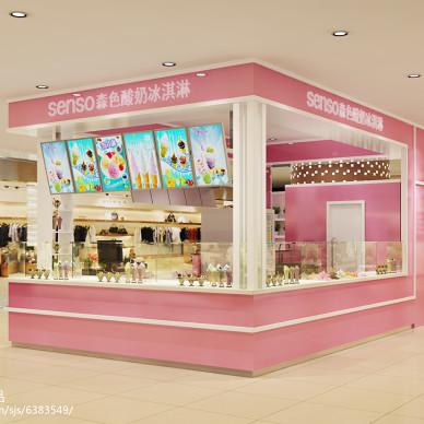 商场冰淇淋小吧_2256115