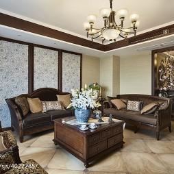 美式时尚风格客厅设计