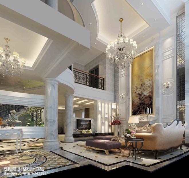 2017年最新别墅客厅图片