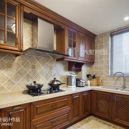 140㎡美式公寓厨房设计
