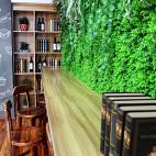 咖啡面包店吧台设计