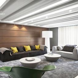 300㎡现代风格客厅设计