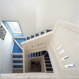 地中海风楼梯效果图设计