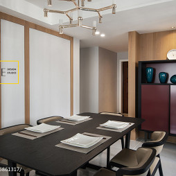 家装简约风格餐厅效果图
