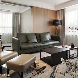 家装简约时尚客厅效果图