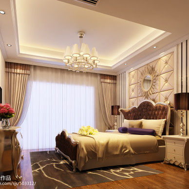 广安大平层简约欧式设计_2286207