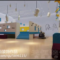 洛阳幼儿园设计案例亲子园设计案例_洛阳福蓓儿亲子园_2288858