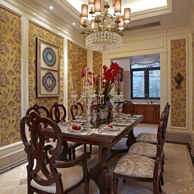 新古典居家餐厅装修图集