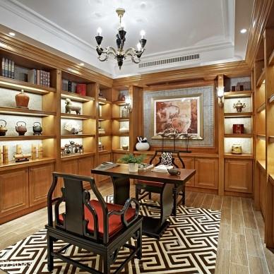 新古典居家书房装修图集