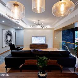 家装简约风格客厅效果图
