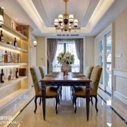 家装欧式格调餐厅设计